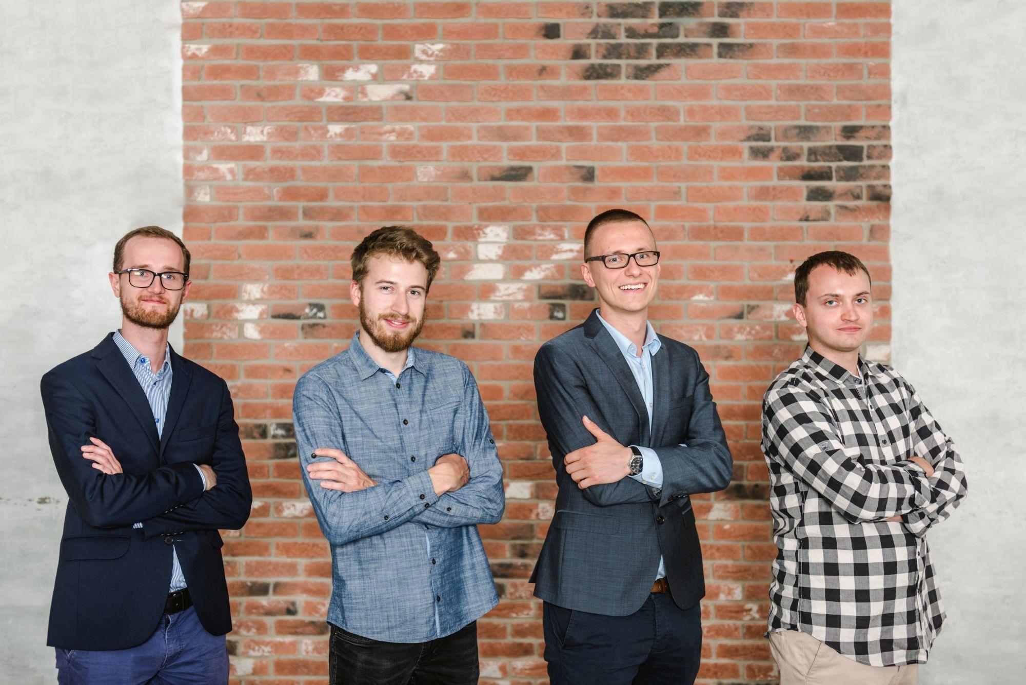 Michał Misiek, Aleksander Konior, Wiktor Warchałowski, Michał Kiełtyka